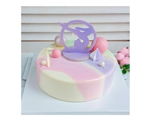 Торт на день рождения дочке d18 см