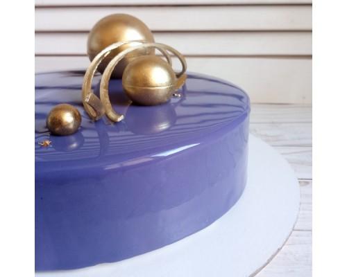 Торт на день рождения с шарами девушке d24 см