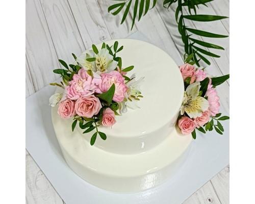Торт ярусный на юбилей