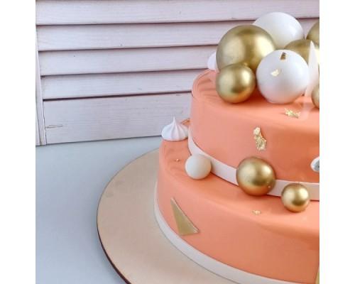 Торт ярусный на день рождения девушки