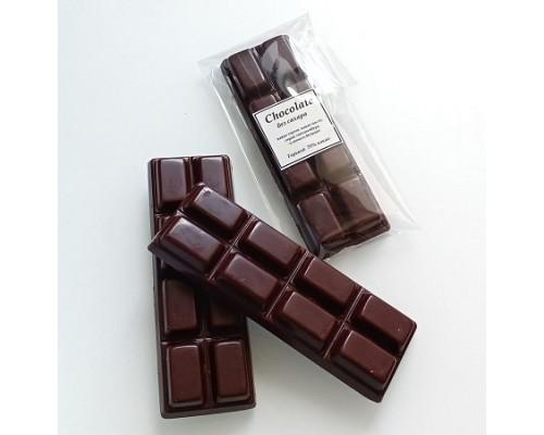 Натуральный шоколад ручной работы без сахара 25 гр.