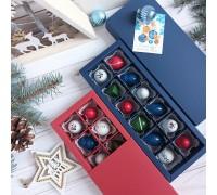 Новогодний набор авторских эксклюзивных корпусных конфет в коробке 25 шт