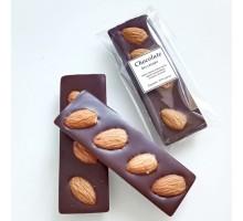 Натуральный шоколад ручной работы с орехами Миндаль без сахара 25 гр