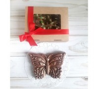 Шоколадная фигурка девушке Бабочка, 75 гр