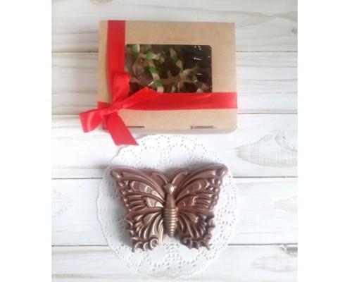 Шоколадная фигурка девушке Бабочка
