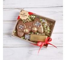 Шоколадная фигурка мужчине Набор геймера, 150 гр
