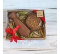 Шоколадная фигурка мужчине Галстук и часы, 150 гр