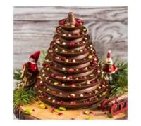 Шоколадная елка молочный шоколад, 450 - 500 гр