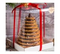 Шоколадная елка карамелизованный шоколад, 450 - 500 гр