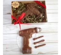 Шоколадные инструменты Шуруповерт, 100 гр