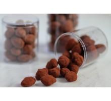 Шоколадное драже Миндаль с кофе ручной работы, 150 гр