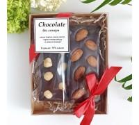 Шоколад ручной работы без сахара, в упаковке 2х50 гр