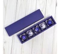 Подарочный набор авторских эксклюзивных корпусных конфет для мужчин в коробке 5 шт