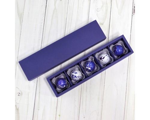 Подарочный набор корпусных конфет для мужчин в коробке 5 шт