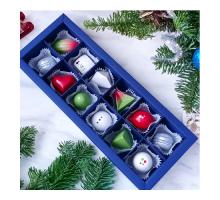 Подарочный набор авторских эксклюзивных корпусных конфет для мужчин в коробке 12 шт