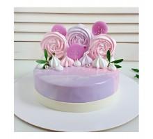 Торт на день рождения ребенку, дочке, d18 см, 1,1 - 1,3 кг