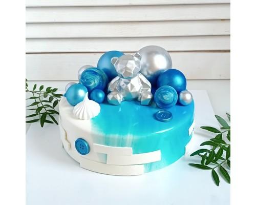 Торт на день рождения сыну d24 см