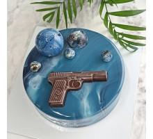 Торт на день рождения мужчине, мужу, папе, дедушке d18 см вес 1,1 - 1,3 кг