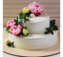 Ярусный торт на день рождения вес 3 - 3,2 кг