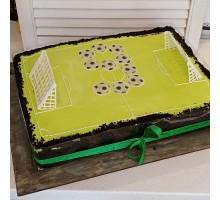 Торт на выпускной Спорт (медовик или бисквит)