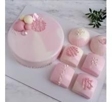 Торт на день рождения девушке, женщине, жене, маме бабушке с муссовыми десертами