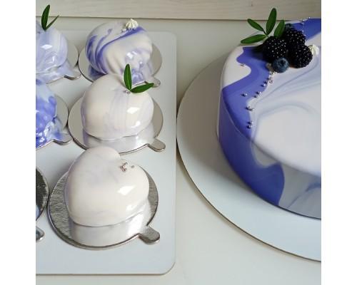 Муссовые пирожные на заказ 6 шт и муссовый торт d18