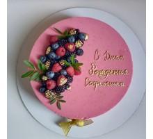 Муссовый торт d18 см вес 1,1 - 1,3 кг