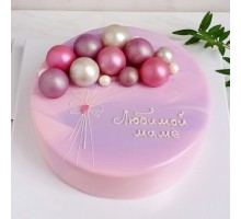 Муссовый торт d24 см вес 1,8 - 2 кг