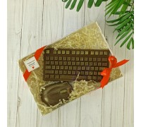 Шоколадный набор Геймер (клавиатура + мышь), 170 гр